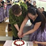 ケーキ入刀2